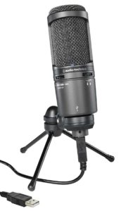 Audio Technica AT2020USB+ Mic