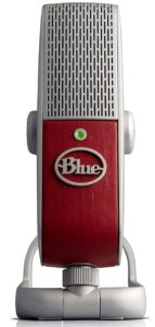 Blue Raspberry Portable USB mic