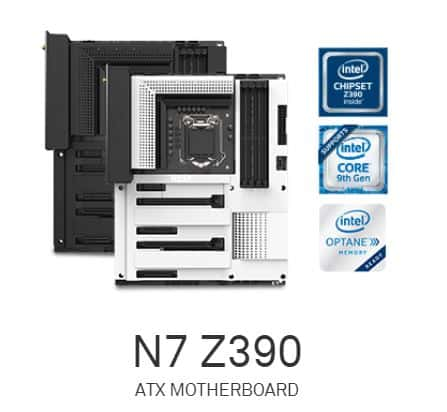 NZXT is in the game with Z390 Motherboard for 9th Gen Intel CPUs