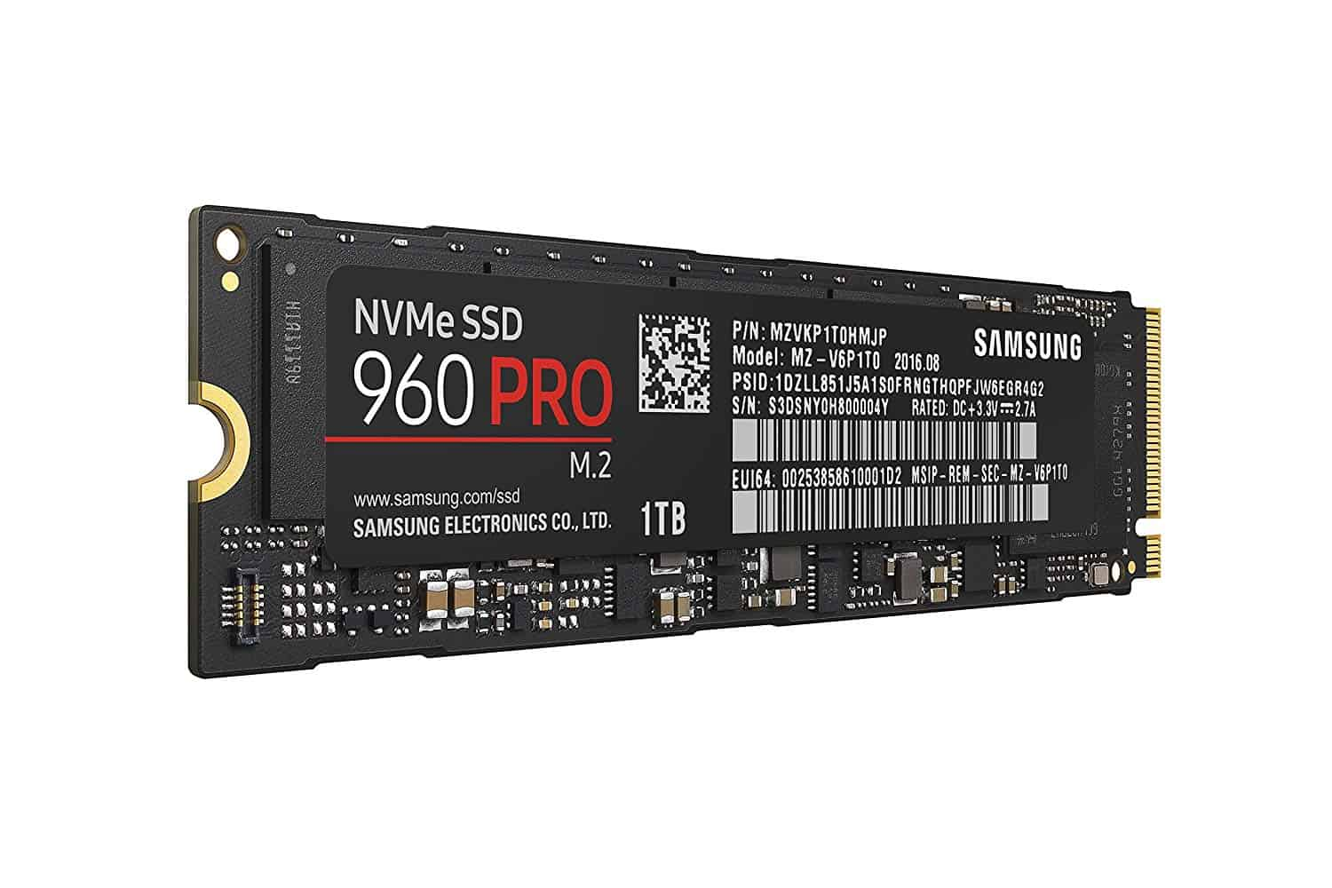 Best NVMe SSD for gaming 2019