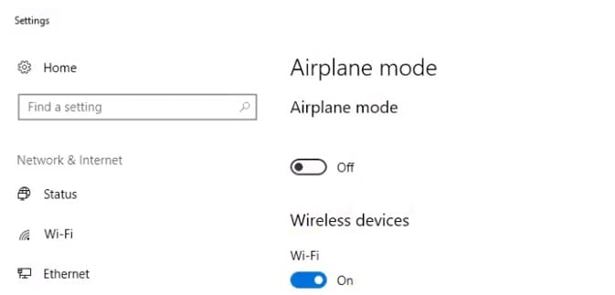 can't connect laptop to wifi