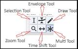 Audacity Tools Toolbar