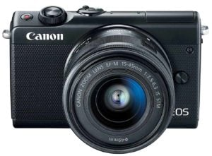 Canon EOS M100 Best Mirrorless Camera under $500