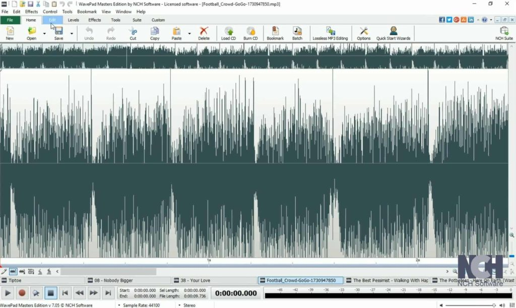 How to crop mp3 files