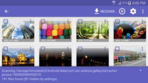 Diskdigger Select Thumbnails