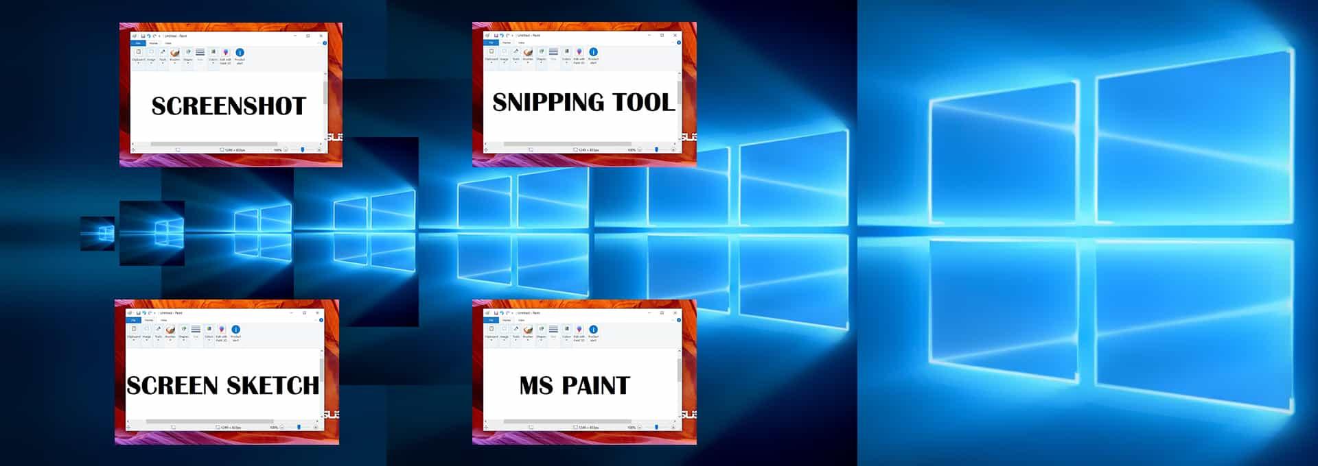 how to take a screenshot on windows hp