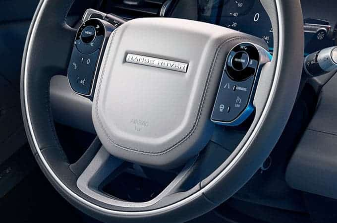Land Rover Evoque Steering Wheel
