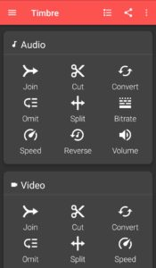 Timbre Audio Editing App Android