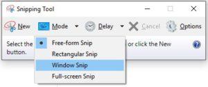 Taking Screenshots on Windows