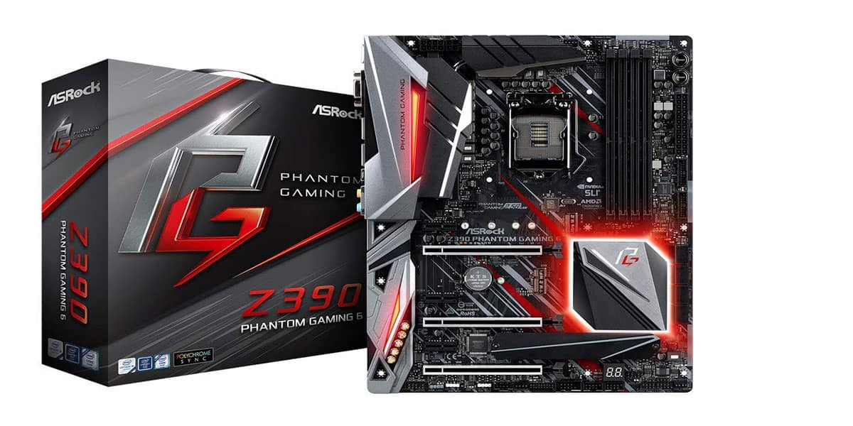 ASRock Phantom Gaming 6 – Best Gaming Motherboard
