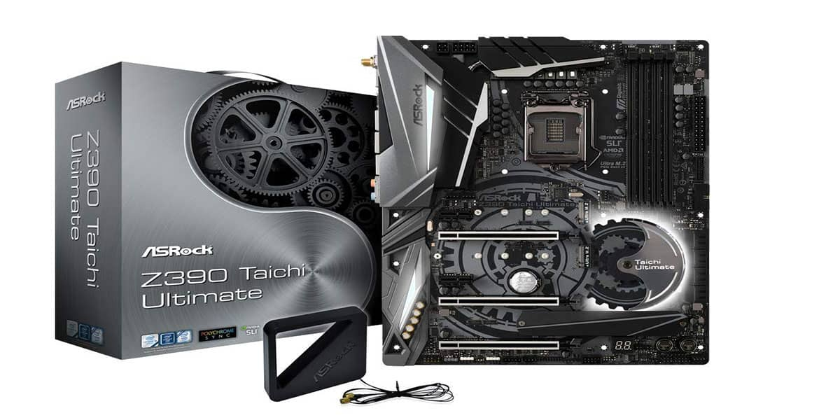 ASRock Z390 Taichi Ultimate – Best high-performance Z390 Motherboard