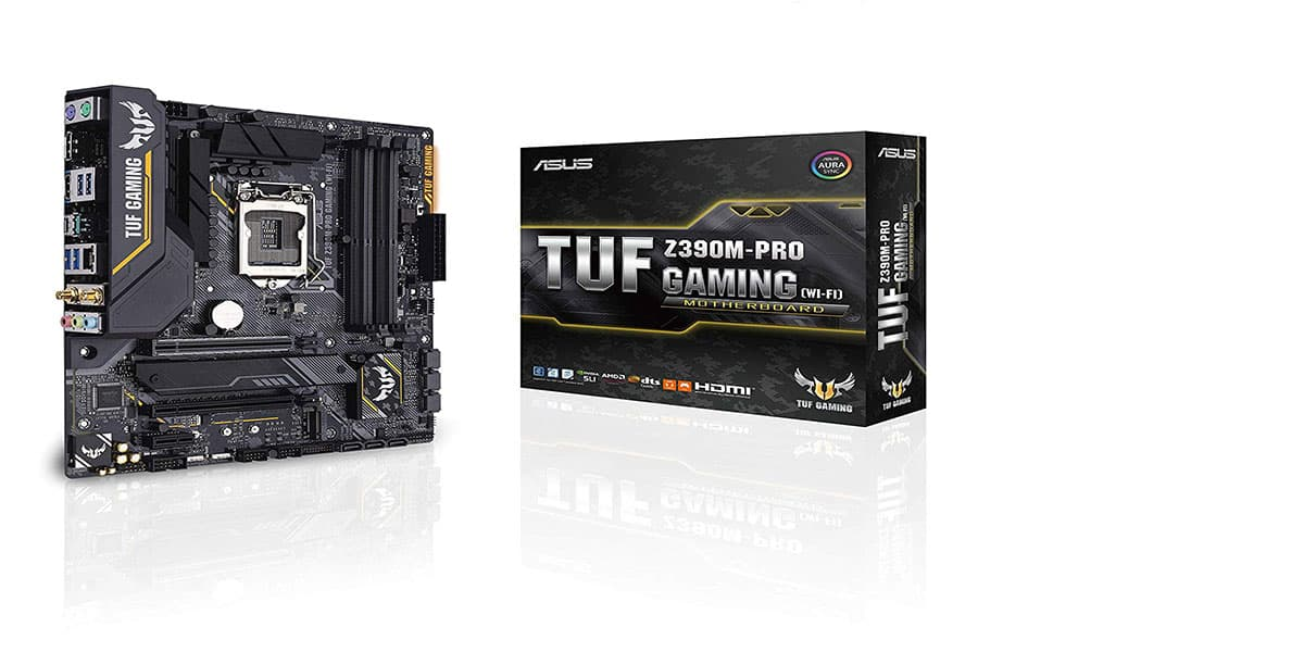 ASUS TUF Z390M-PRO Gaming – Best Micro ATX motherboard