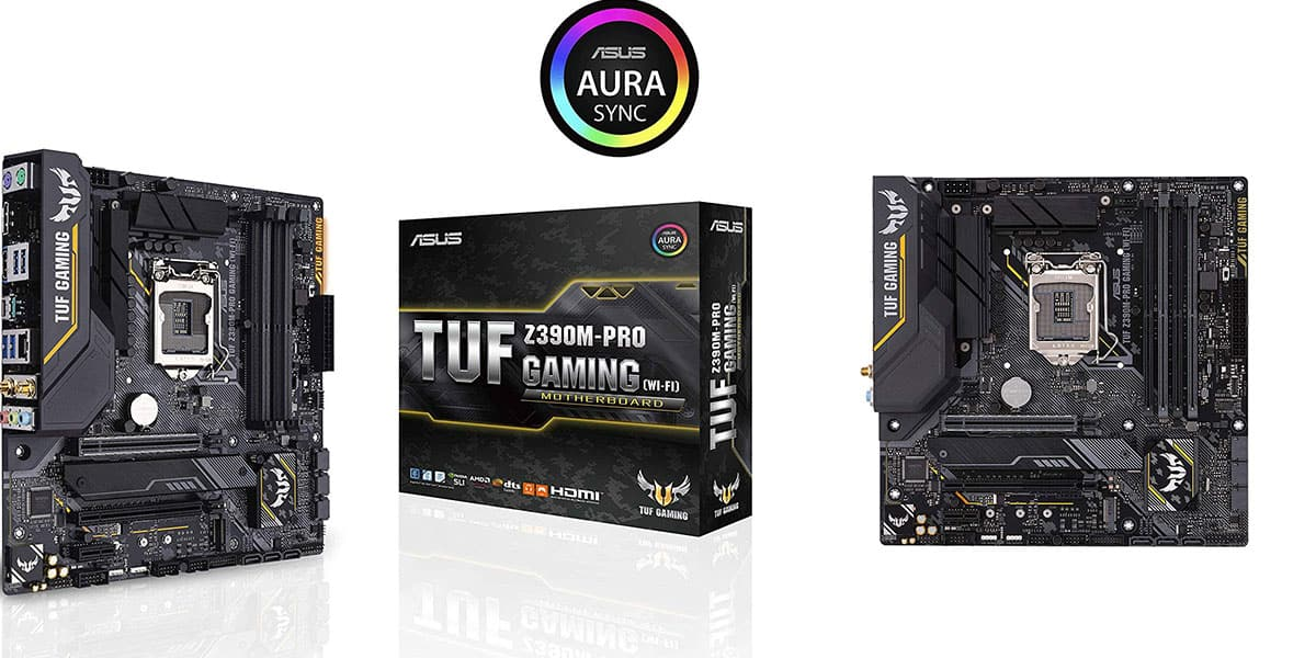 Best Micro ATX Motherboard ASUS TUF Z390M PRO Gaming
