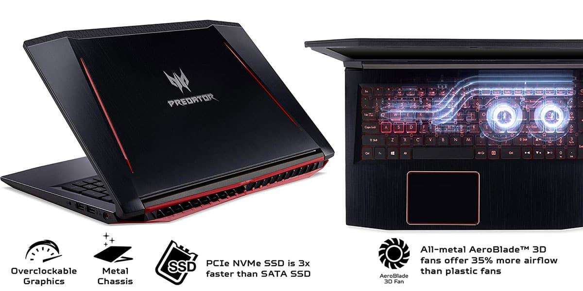 Acer Predator Helios – Overclocked Laptop for Demanding Tasks