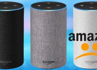 Amazon Echo down on Christmas 2018