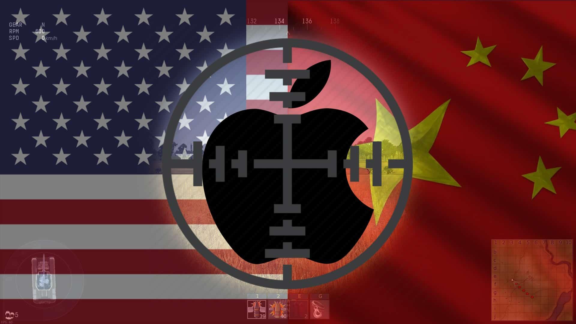 Apple USA China trade war