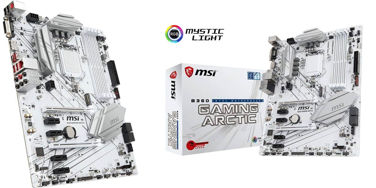 Best B360 Motherboard (Intel) – MSI B360 Gaming ARCTIC