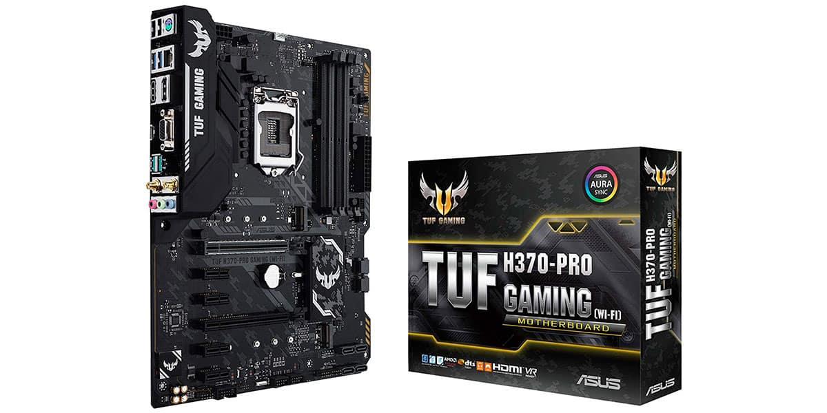 Best H370 Motherboard (Intel) – ASUS TUF H370-Pro Gaming