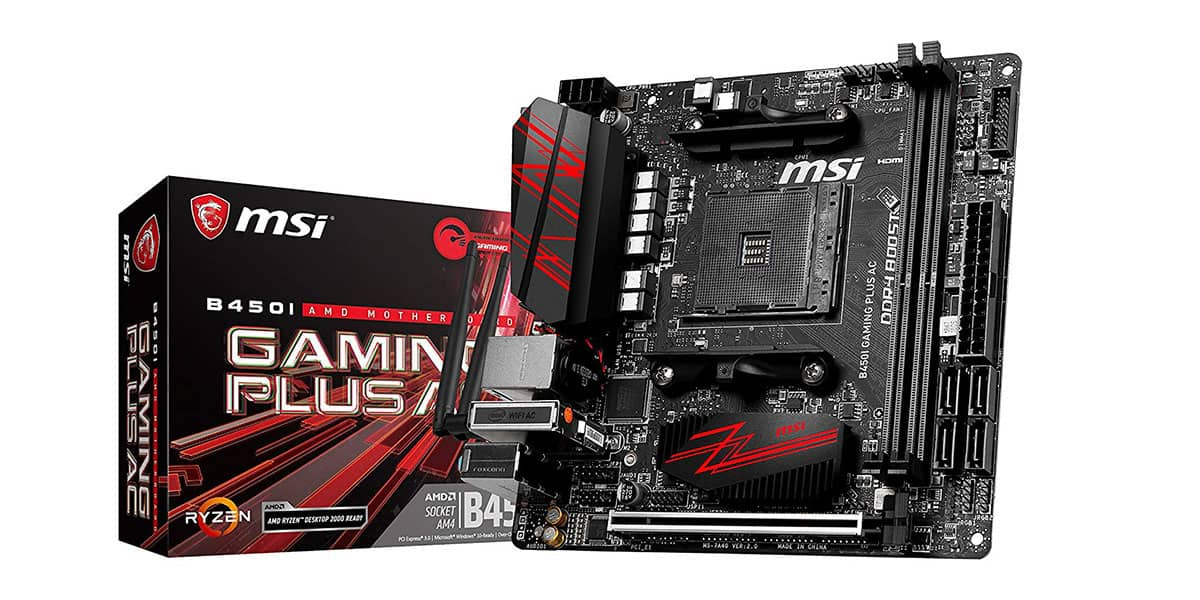 Best Mini ITX Motherboard – MSI B450i Gaming Plus AC