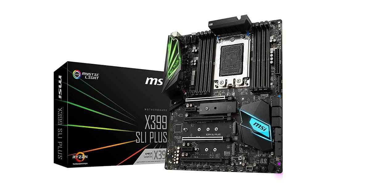 Best X399 Motherboard (AMD) – MSI X399 SLI Plus