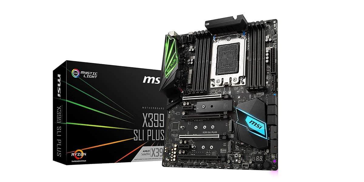 Best X399 Motherboard (AMD) – MSI X399 SLI Plus