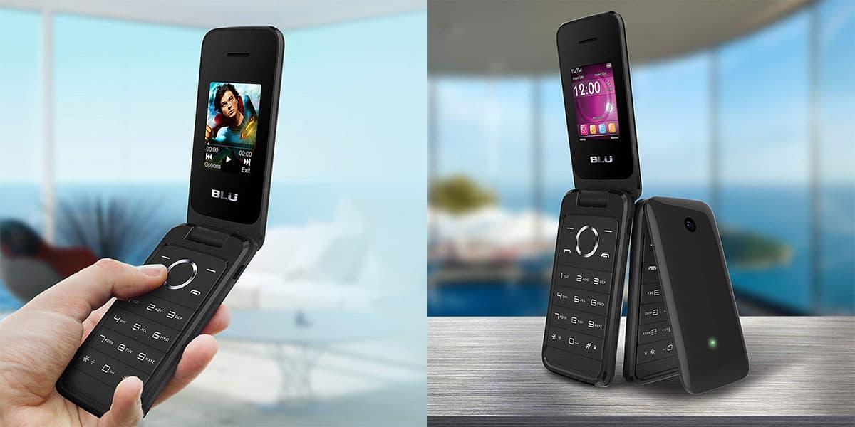 Blu Diva Flex, the most affordable flip phone