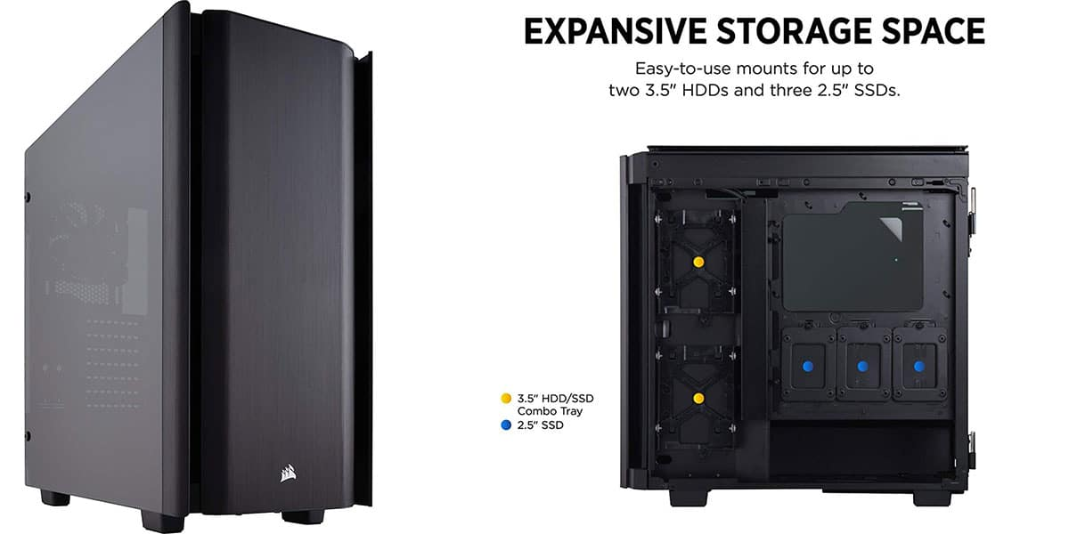 Corsair Obsidian 500D – Best Looking Mid-Tower Case