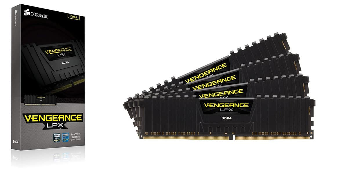 Corsair Vengeance LPX 16GB (4 x 4GB) DDR4 DRAM 3000MHz
