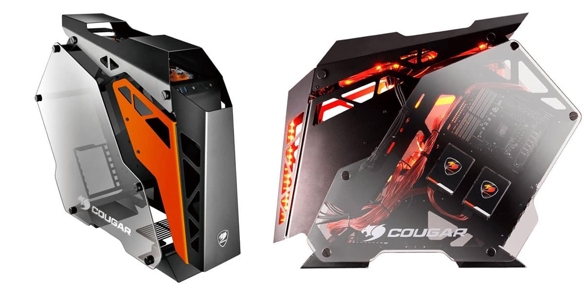 Cougar Conquer – Open Air Case with a Sci-Fi Aesthetic