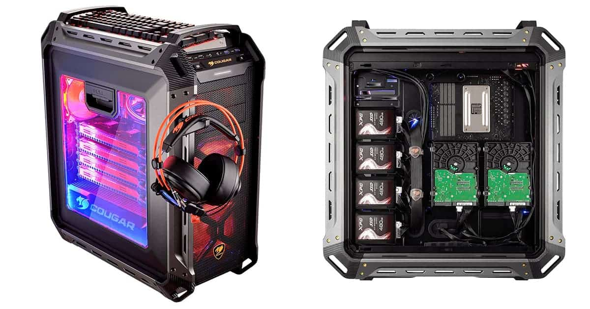 Best portable case for full atx - Panzer Max Ultimate