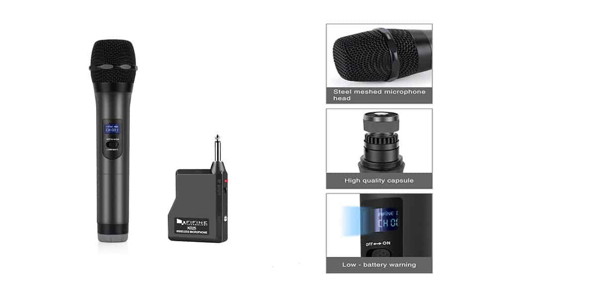 Fifine K025 – Most Affordable Wireless Microphone on the Market