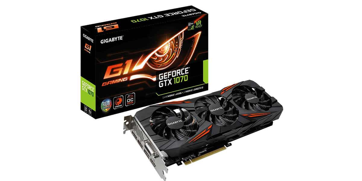 Gigabyte GeForce GTX 1070 G1 Gaming 8G