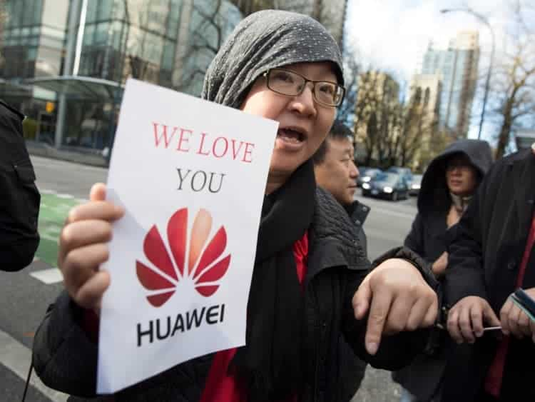 Huawei China increased sales