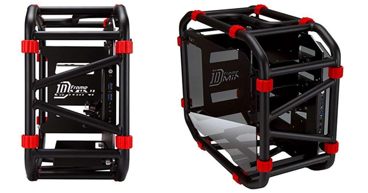 In-Win-D-Frame-Mini-Open-Frame-Chassis-Case-Incredible-Durability