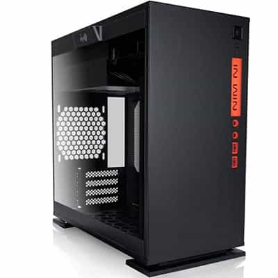 InWin 301 Black Tempered Glass Micro-ATX Mini-ITX Tower Gaming Computer Case