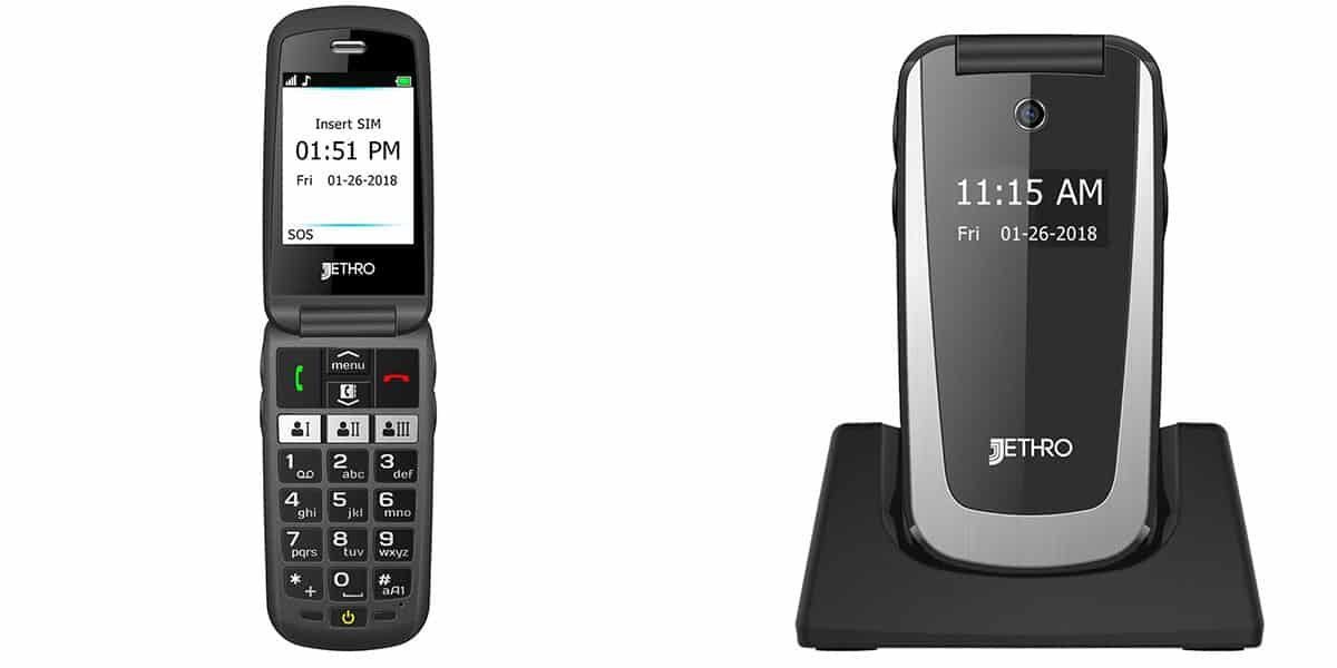 Jethro SC729, sleek phone with powerful battery