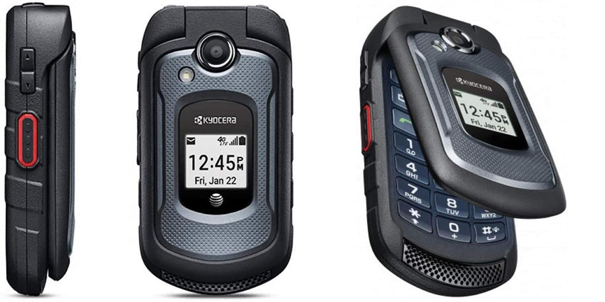 Kyocera DuraXV, a 4G flip phone with a touch of smartness