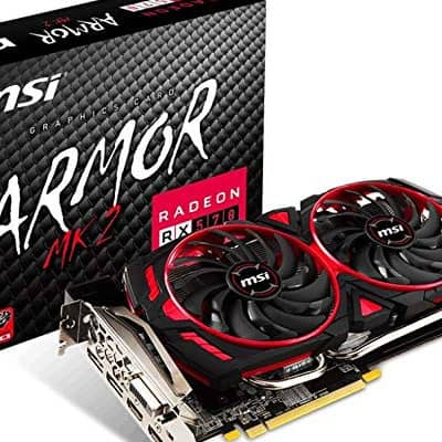 MSI Gaming Radeon RX 570 256-bit 8GB GDRR5 DirectX 12 VR Ready CFX Graphcis Card