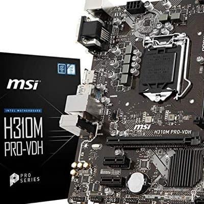 MSI Pro H310M PRO-VDH Micro ATX Motherboard