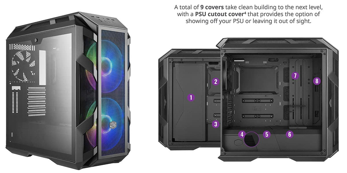 MasterCase H500M – Best High End Mid Tower Case