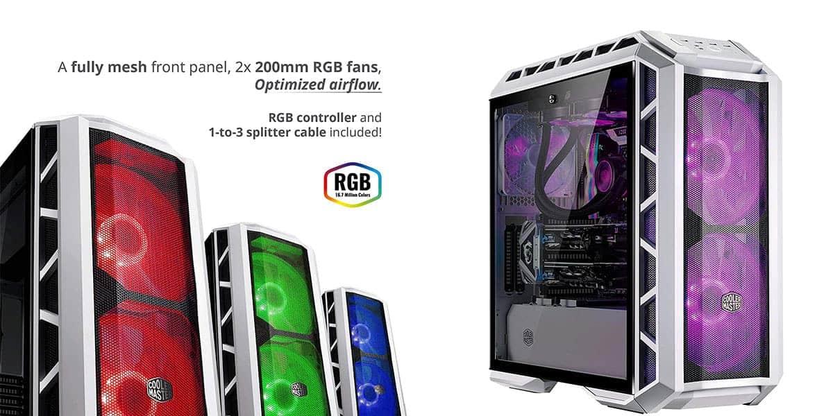 MasterCase H500P mesh white ATX