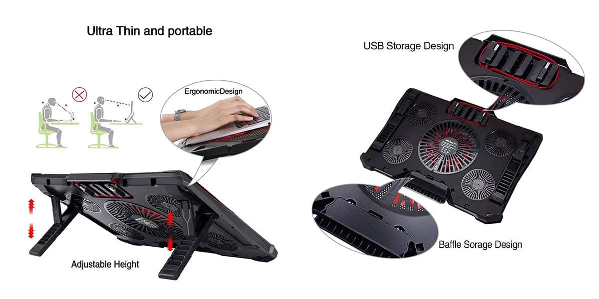 Mobility Laptop Cooling Pad