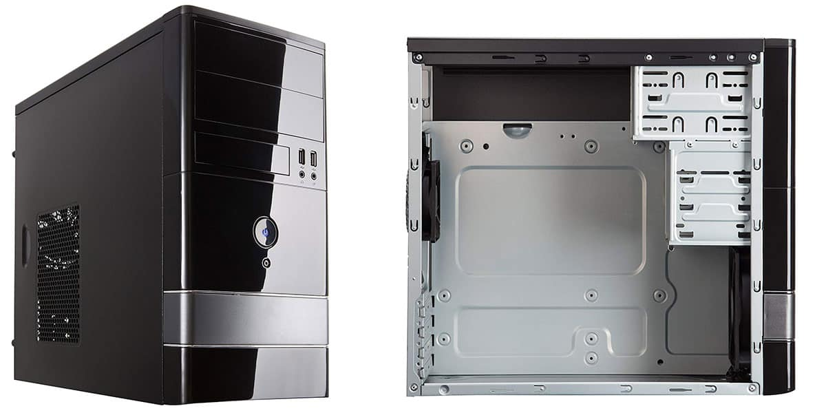 ROSEWILL Micro ATX Mini Tower Computer Case