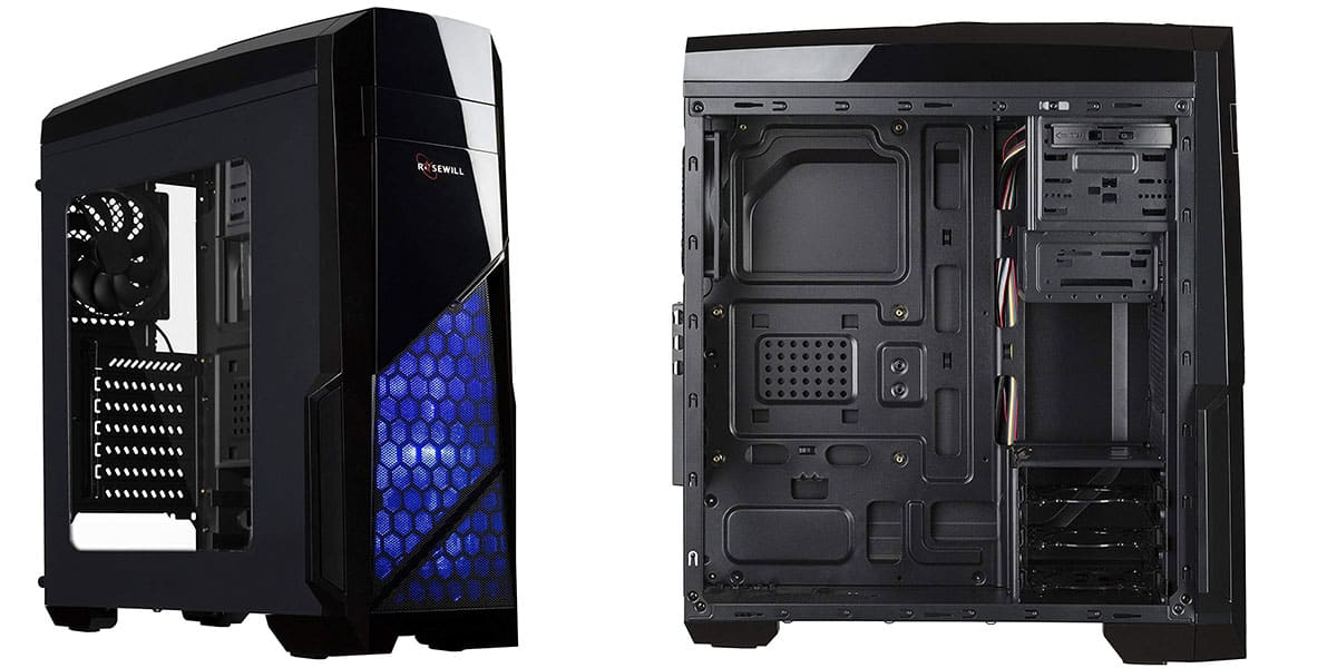 Rosewill Nautilus – Best Mid Tower Case Under $50