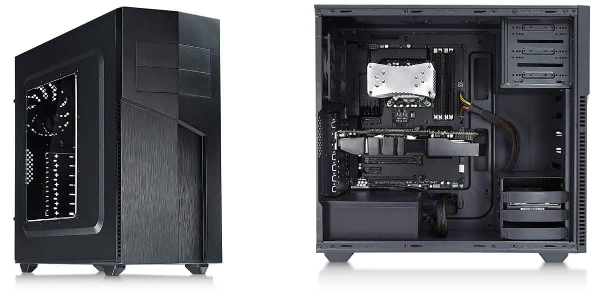 Rosewill Tyrfing  Best Budget Mid Tower Case
