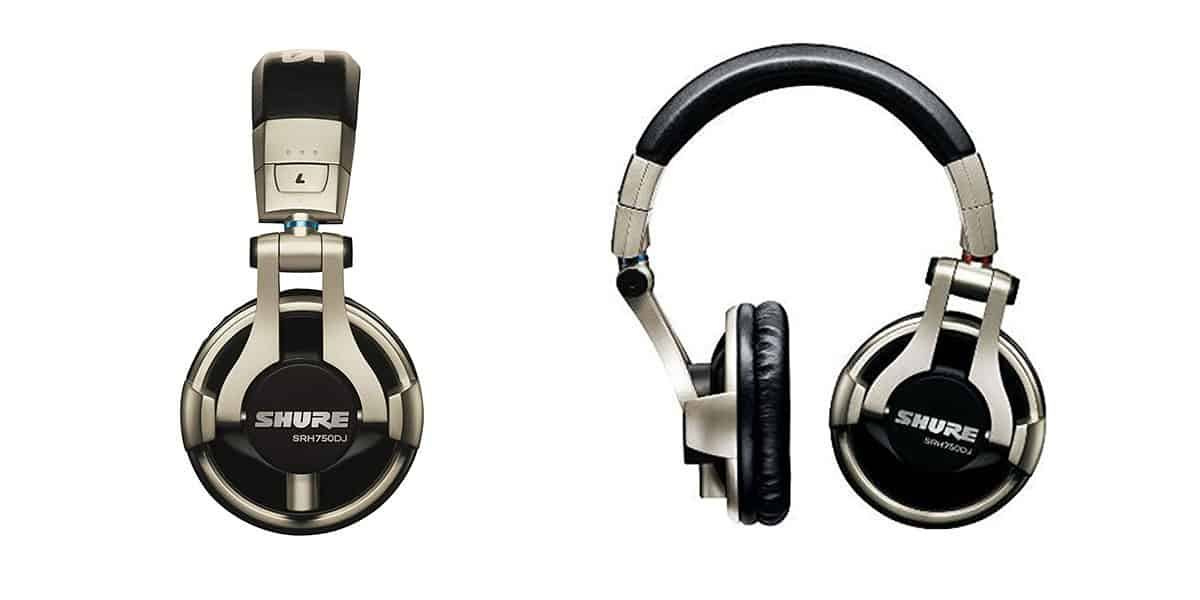 Shure SRH750DJ – Best Bang for Your Buck