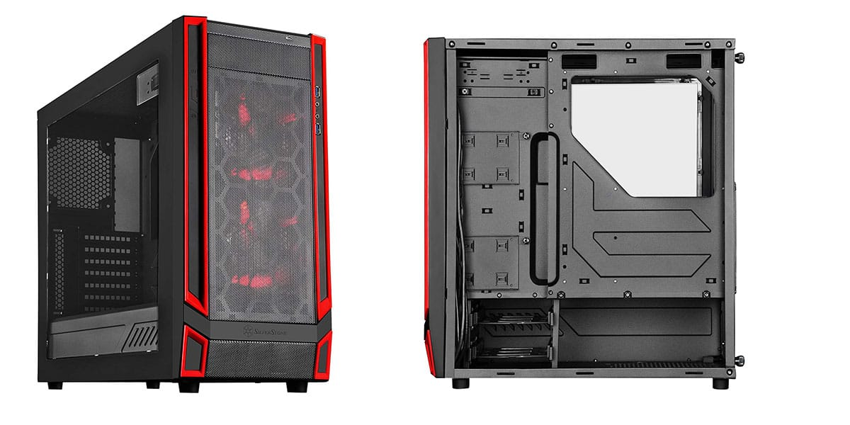 SilverStone Technology RL05BR-W – Best ITX Case for Airflow