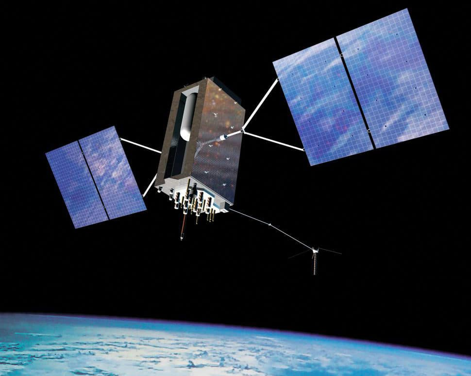 SpaceX Falcon 9 GPS III Satellite