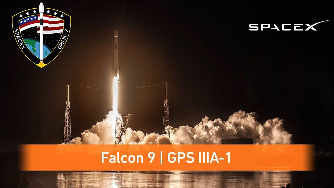 SpaceX Falcon 9 GPS III