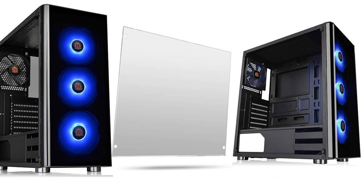Thermaltake V200 Tempered Glass RGB Edition ATX Mid-Tower Chassis